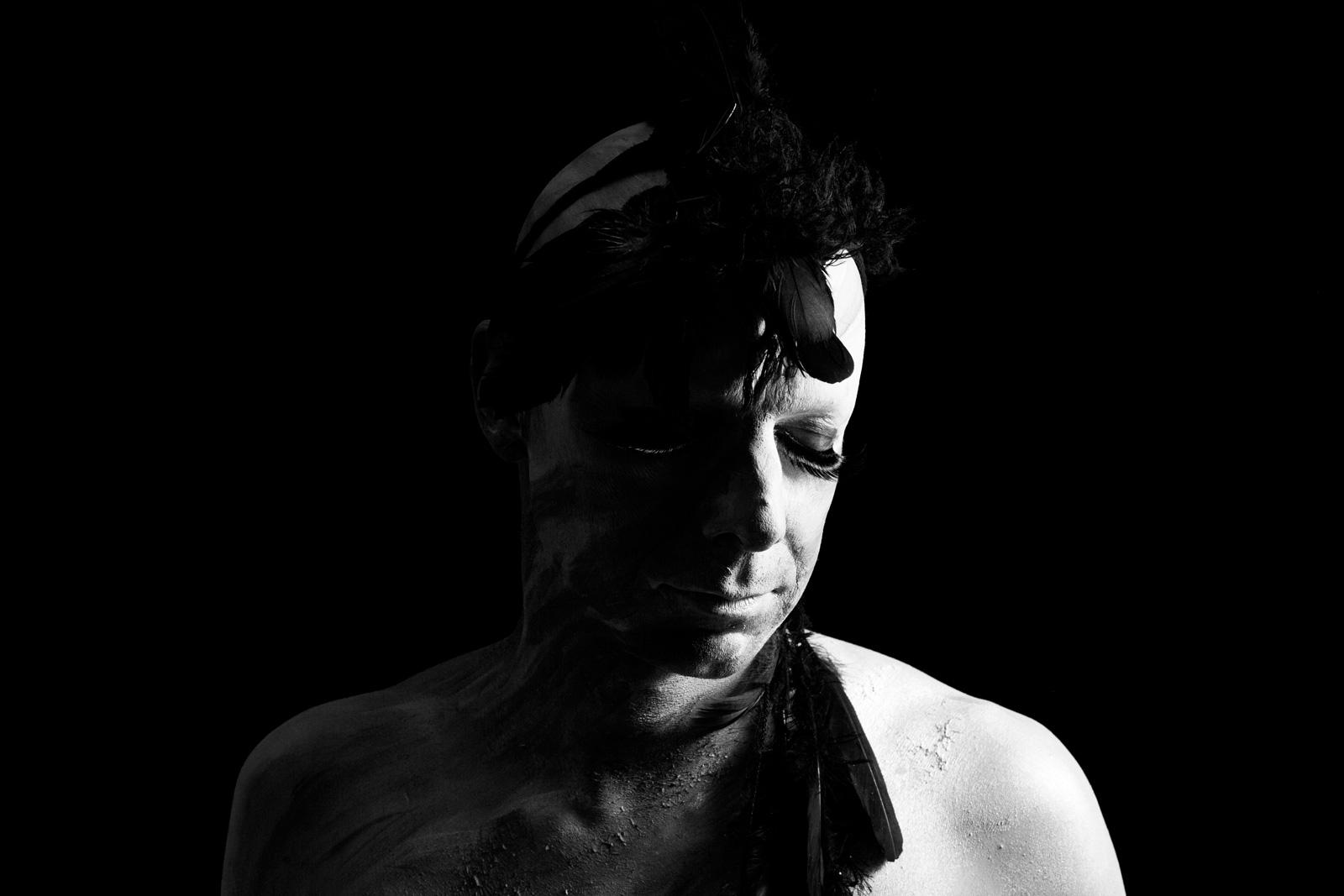 nr 3-Luminous-black and white photo-Michael