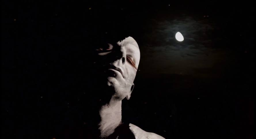 Luminous-music video screen photo of Michael